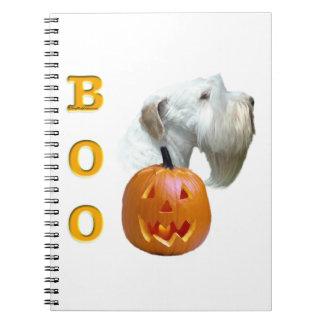 Sealyham Terrier Boo Spiral Notebook
