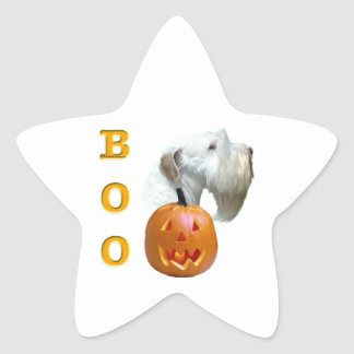 Sealyham Terrier Boo Star Sticker