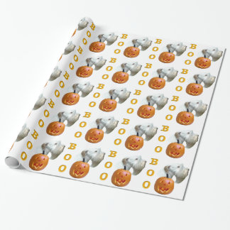 Sealyham Terrier Boo Wrapping Paper