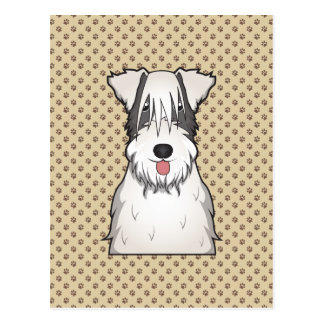 Sealyham Terrier Cartoon Postcard