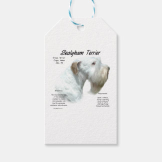 Sealyham Terrier History Gift Tags