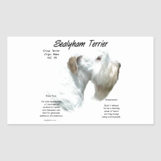 Sealyham Terrier History Sticker