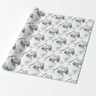 Sealyham Terrier History Wrapping Paper