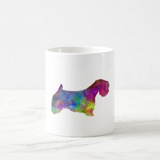 Sealyham Terrier in watercolor Coffee Mug