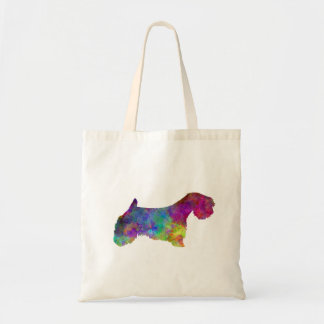 Sealyham Terrier in watercolor Tote Bag