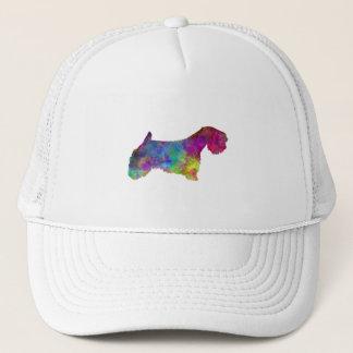 Sealyham Terrier in watercolor Trucker Hat
