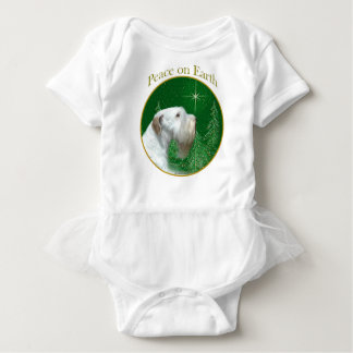 Sealyham Terrier Peace on Earth Baby Bodysuit