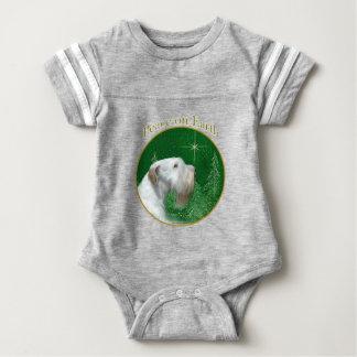 Sealyham Terrier Peace on Earth Baby Bodysuit