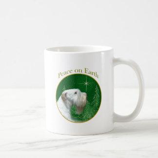 Sealyham Terrier Peace on Earth Coffee Mug