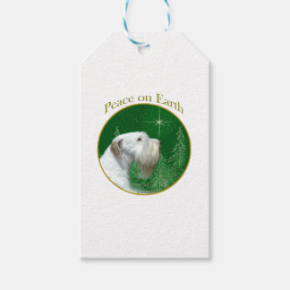 Sealyham Terrier Peace on Earth Gift Tags