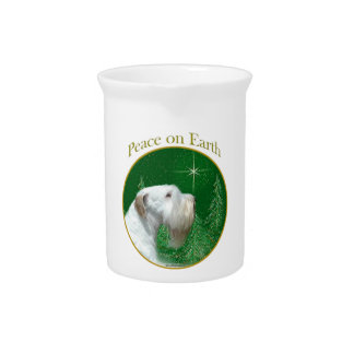 Sealyham Terrier Peace on Earth Pitcher