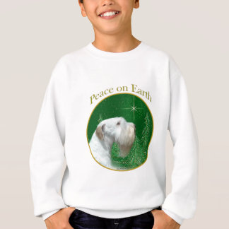 Sealyham Terrier Peace on Earth Sweatshirt