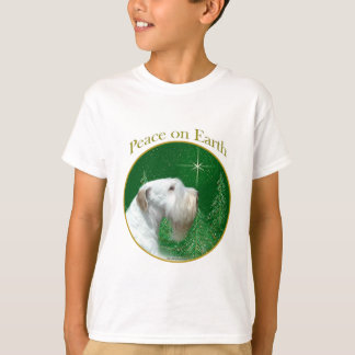 Sealyham Terrier Peace on Earth T-Shirt