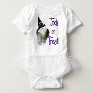 Sealyham Terrier Trick or Treat Baby Bodysuit