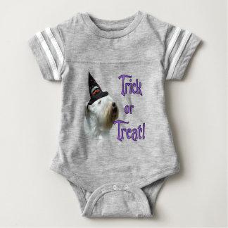 Sealyham Terrier Trick or Treat Baby Bodysuit