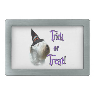 Sealyham Terrier Trick or Treat Belt Buckle