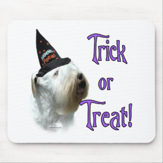 Sealyham Terrier Trick or Treat Mouse Pad
