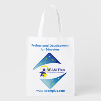 SEAM360 Tutoring Grocery Bag