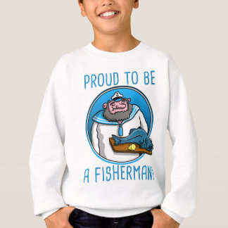 seaman captain serving A fish Sweatshirt