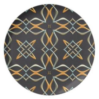 seamless #4 plate