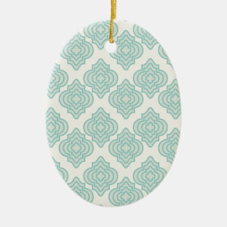Seamless background ceramic ornament