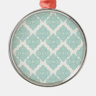 Seamless background metal ornament