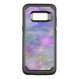 seamless blue, pink background yellow watercolor OtterBox commuter samsung galaxy s8 case