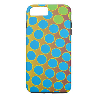 Seamless bright background. Decorative geometric iPhone 8 Plus/7 Plus Case