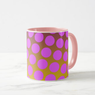 Seamless bright background. Decorative geometric Mug