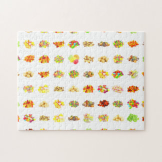 Seamless Candy and Candies Pattern Background Jigsaw Puzzle