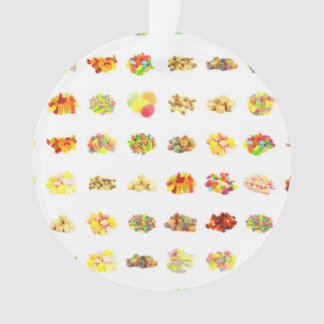 Seamless Candy and Candies Pattern Background Ornament