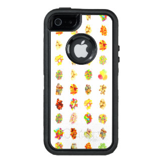 Seamless Candy and Candies Pattern Background OtterBox Defender iPhone Case