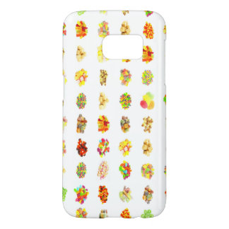 Seamless Candy and Candies Pattern Background Samsung Galaxy S7 Case