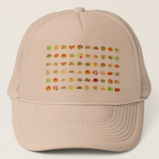 Seamless Candy and Candies Pattern Background Trucker Hat