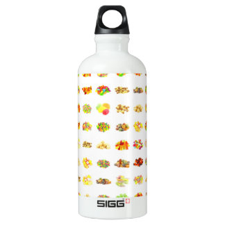 Seamless Candy and Candies Pattern Background Water Bottle