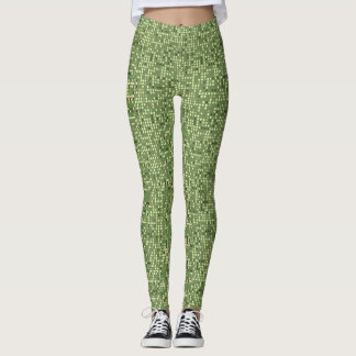Seamless Easter Egg Subtle Leggings