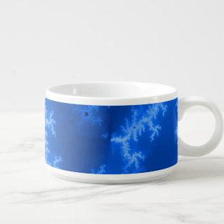 Seamless Fractal Blue Chili Bowl