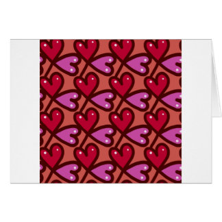Seamless Hearts #2 Card
