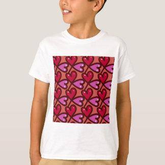 Seamless Hearts #2 T-Shirt