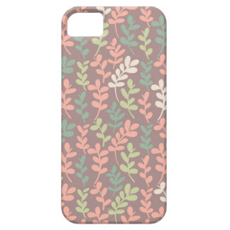 Seamless leaves pattern iPhone 5 case