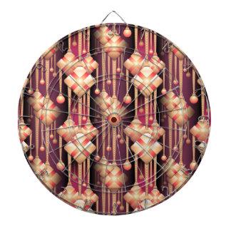 seamless-pattern dartboard