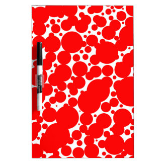 Seamless Pattern Dry Erase Whiteboards