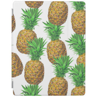 Seamless pattern with pineapples iPad cover