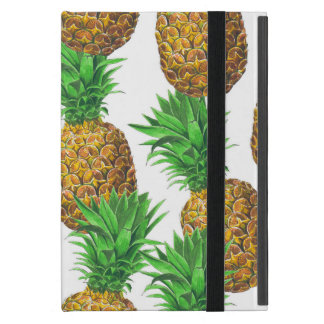 Seamless pattern with pineapples iPad mini case