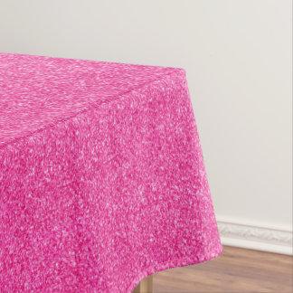 Seamless Pink glitter sparkles glamorous pattern Tablecloth