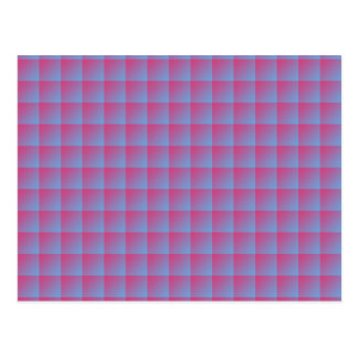 Seamless Pink Tile Pattern on iPhone 6 Case Postcards