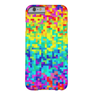 Seamless Pixel Pattern Background as an Artistic Barely There iPhone 6 Case