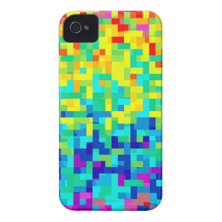 Seamless Pixel Pattern Background as an Artistic Case-Mate iPhone 4 Case