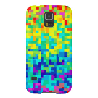 Seamless Pixel Pattern Background as an Artistic Cases For Galaxy S5