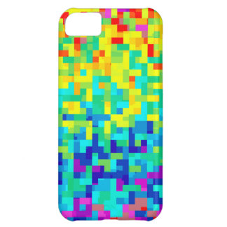 Seamless Pixel Pattern Background as an Artistic iPhone 5C Case